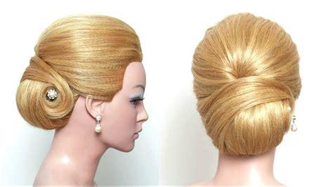 elegant updo hairstyles step by step elegant updo bridal hairstyle for long hair tutorial step