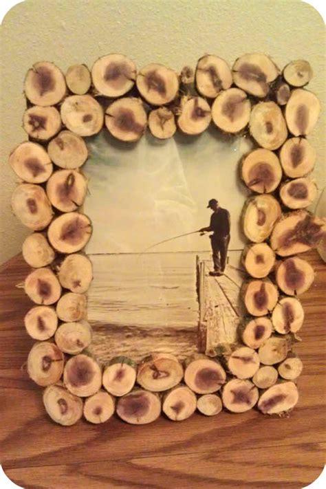 ginger flair diy wood slice picture frame