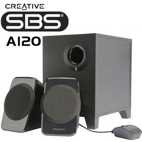 Speaker Aktif Creative A120 creative sbs a120 2 1 multimedia speaker prices in india
