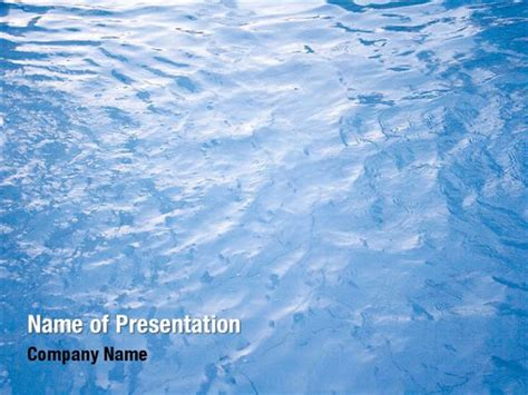 Blue Water Powerpoint Templates Blue Water Powerpoint Backgrounds Templates For Powerpoint Water Powerpoint Template