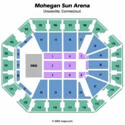 mohegan sun arena concert seating chart mohegan sun arena