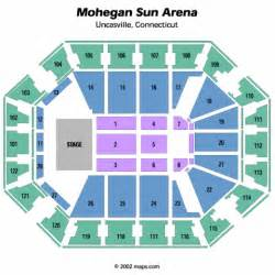 mohegan sun arena floor plan mohegan sun arena map adriftskateshop
