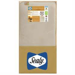 sealy signature luxury crib mattress sealy signature luxury 2 stage crib and toddler
