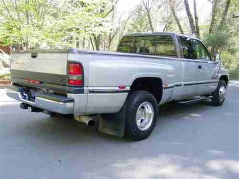 1997 dodge ram 3500 specs pictures trims colors cars com sell used 1997 dodge ram 3500 12 valve cummins turbo diesel only 72k miles 5 speed dually in