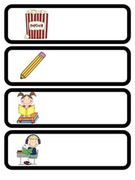 daily schedule cards template 1000 images about classroom labels on