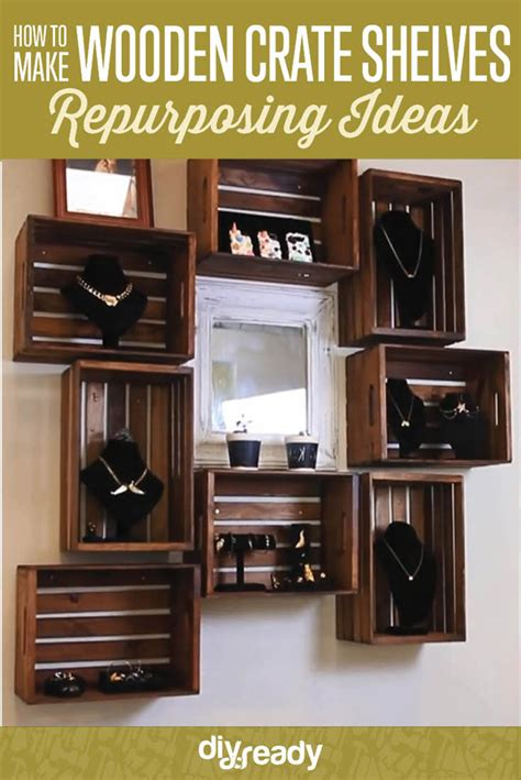 ready made bookshelves diy wooden crate shelves diy ready