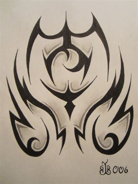 black and gray tribal tattoos tribal images designs