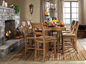 pub style dining room sets dining room pub style dining set with square table made