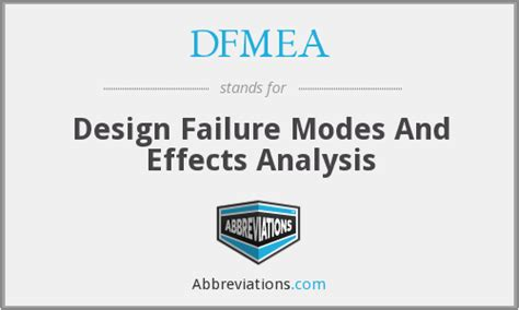 design effect interpretation dfmea design failure modes and effects analysis