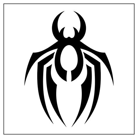 tribal spider tattoo meaning spider tarantula ii tatto black white tribal