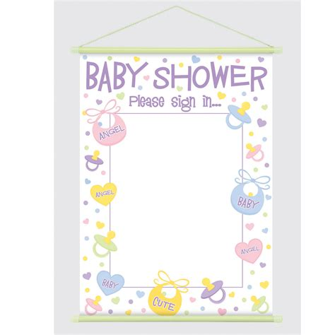 Baby Shower Sign In Sheet Template by Search Results For Free Baby Shower Sign In Sheet