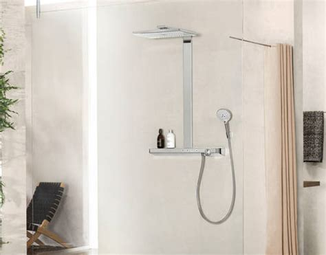 Rainmaker Select 460 3 Jet EcoSmart Shower (White & Chrome
