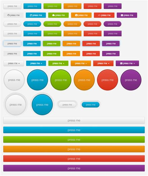 format html buttons css weekly web design development news collective 8