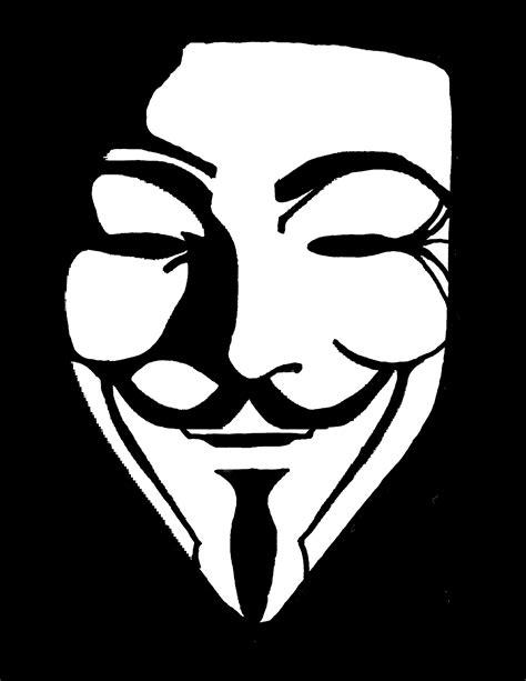 Guy Fawkes Mask Meme - anonymous mask stencil memes