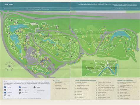 Mt Coot Tha Botanical Gardens Map Garden Ftempo Brisbane Botanic Gardens Map