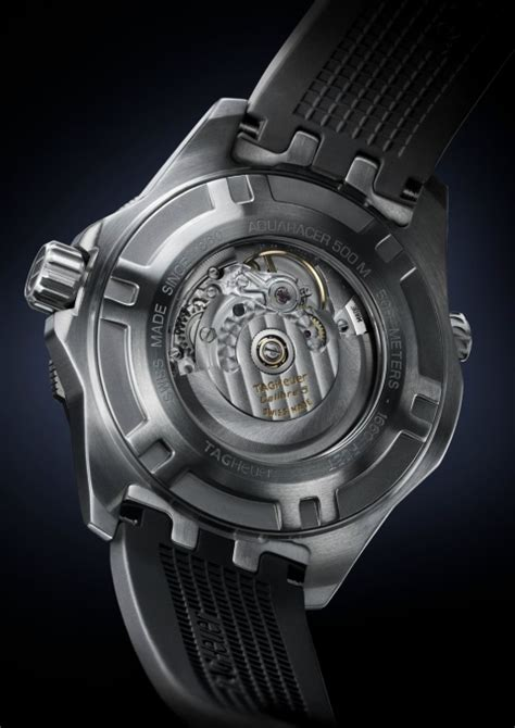 Tag Clear Black by Tag Heuer Aquaracer 500m Calibre 5 Diver World Review