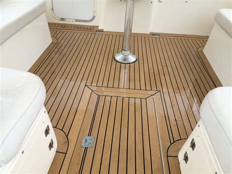 synthetic teak decking for boats nuteak synthetic marine teak decking nuteak synthetic