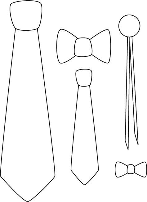 corbata colores dibujalia dibujos para colorear eventos corbatas para colorear e imprimir imagui