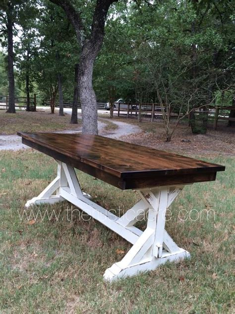 Farm Table Knotty Alder Farm Table Country Decor