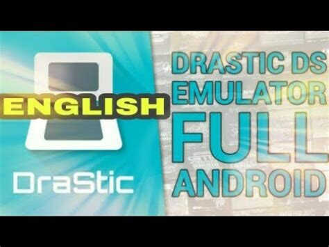 Drastic Ds Emulator Full Version English | how to download drastic ds emulator full apk in english