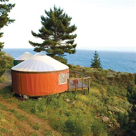 big sur cabin treebones resort big sur ca sunset