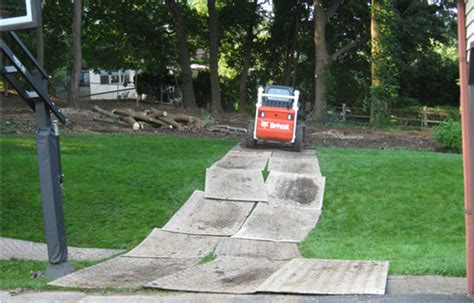 Lawn Protection Mats by Brendan Gibbons Brendan Gibbons Company Services Include