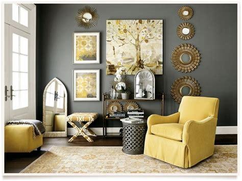 grey  yellow decor home decorating  yellow
