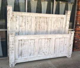 Wood bed frame solid wood bedroom furntiture reclaimed