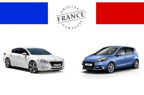 Les Acheter Gt Liste Des Voitures Produites En France