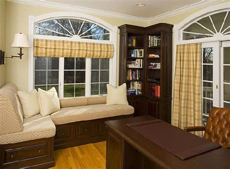 home office window treatments window treatments contemporary home office new york