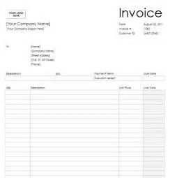 Print Invoice Template by Blank Invoice To Print Printable Invoice Template