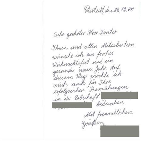 Mit Freundlichen Grüßen Und Ein Frohes Neues Jahr Referenzen Historikerkanzlei