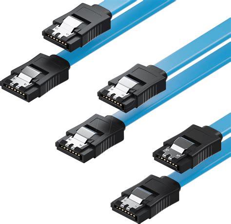 Kabel Sata Set mk mk9065 sata iii 6gb s kabel set 3x 0 50m blau