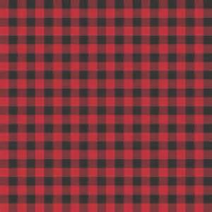 Ballard Design Fabrics red and black buffalo check wallpaper joy studio design