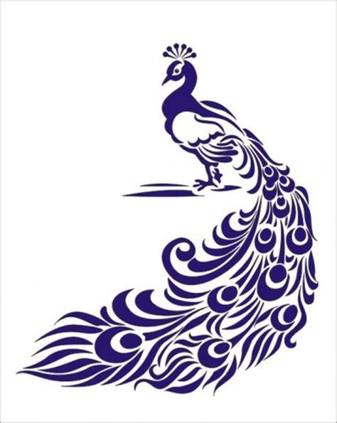 peacock template stencil peacock 7 x 8 5 oklahomastencilcompany