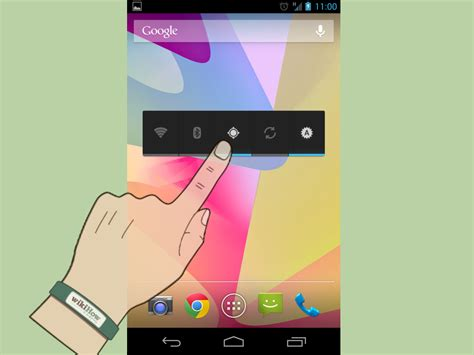 how to turn on gps on android how to turn gps on android 5 steps with pictures wikihow