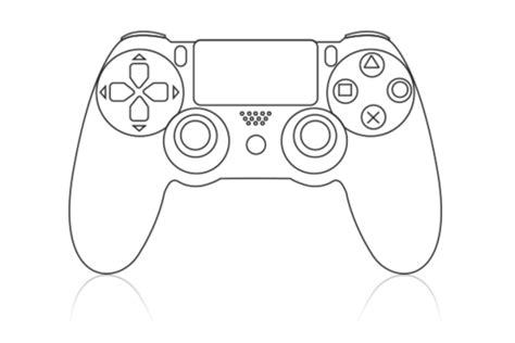xbox 360 printable coloring pages xbox one controller outline collection 9 wallpapers