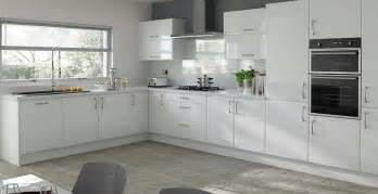 Red Gloss Kitchen Cabinets - kitchen cabinet doors white gloss kitchen and decor