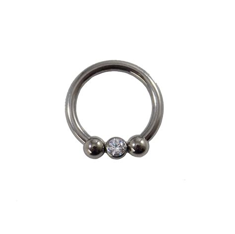 captive bead ring removal captive circular barbell in clear identity