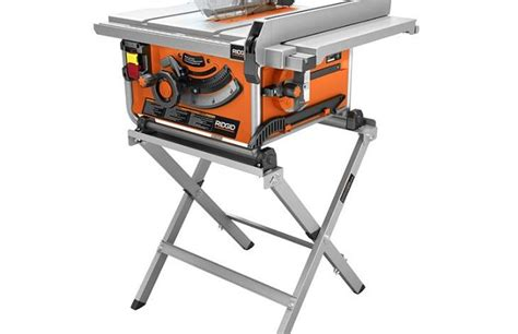 Ridgid Table Saw Review by Corded Saw Reviews For The Jobsite Pro Tool Reviews