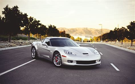 road car corvette car road wallpaper 1920x1200 16602