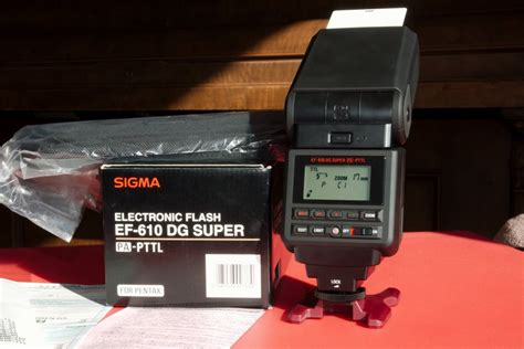 Flash Sigma Ef 610 Dg St sigma ef 610 dg p ttl flash price cut pentaxforums