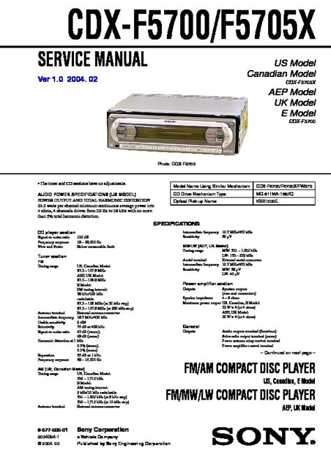 sony cdx fw570 wiring diagram 29 wiring diagram images