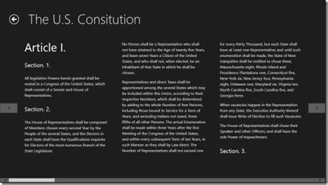 article i section 8 of the us constitution windows 8 app to browse the u s constitution documents