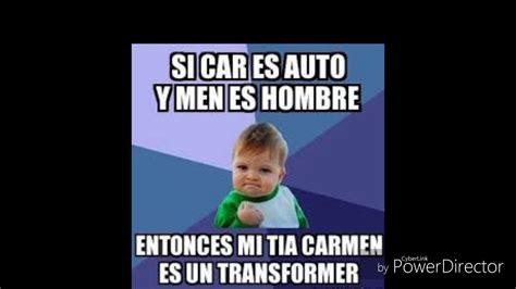 Memes Funny En Espaã Ol - memes 2017 en espa 241 ol youtube
