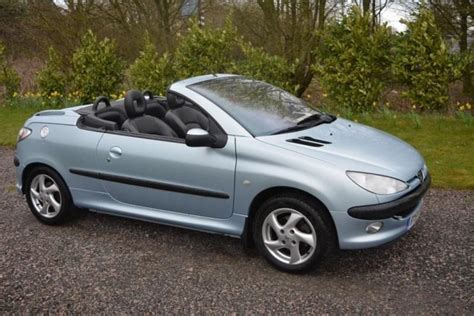 peugeot convertible 206 cc 3dr sell 163 695 in