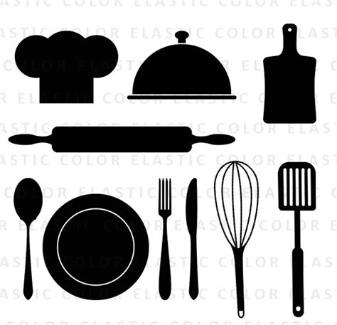 Kitchen Design Software Free Download 3d by Kitchen Svg Kitchen Utensils Clipart Restaurant Clip