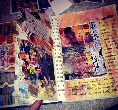 sketchbook for the artist artist research pages in my sketchbook ideas