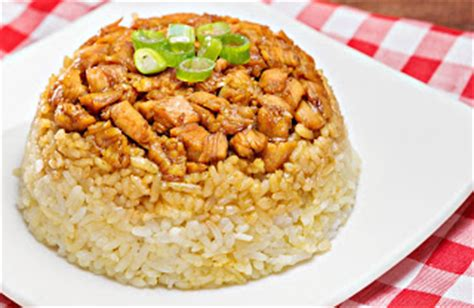 resep membuat nasi tim ayam resep cara membuat nasi tim ayam jamur resep masakan