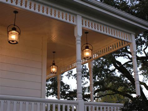 Front Porch Lights Fixtures A New Farmhouse Hgtv Home 2009